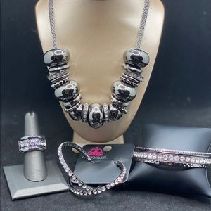 Gunmetal set